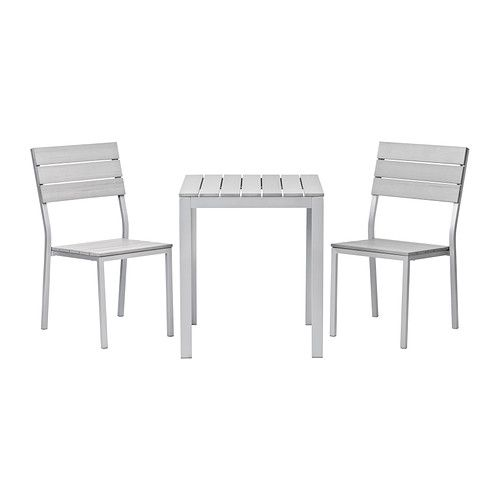 Elegant IKEA   FALSTER, Chairs, Outdoor, Gray , Polystyrene Slats Are  Weather Resistant And Easy To Care For.The Furniture Is Both Sturdy And  Lightweight As The ...