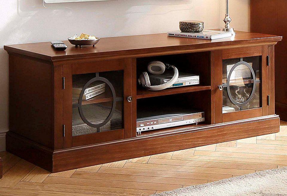 Home affaire TV-Lowboard »Lugano«, Breite 140 cm, mit 2 Türen mit