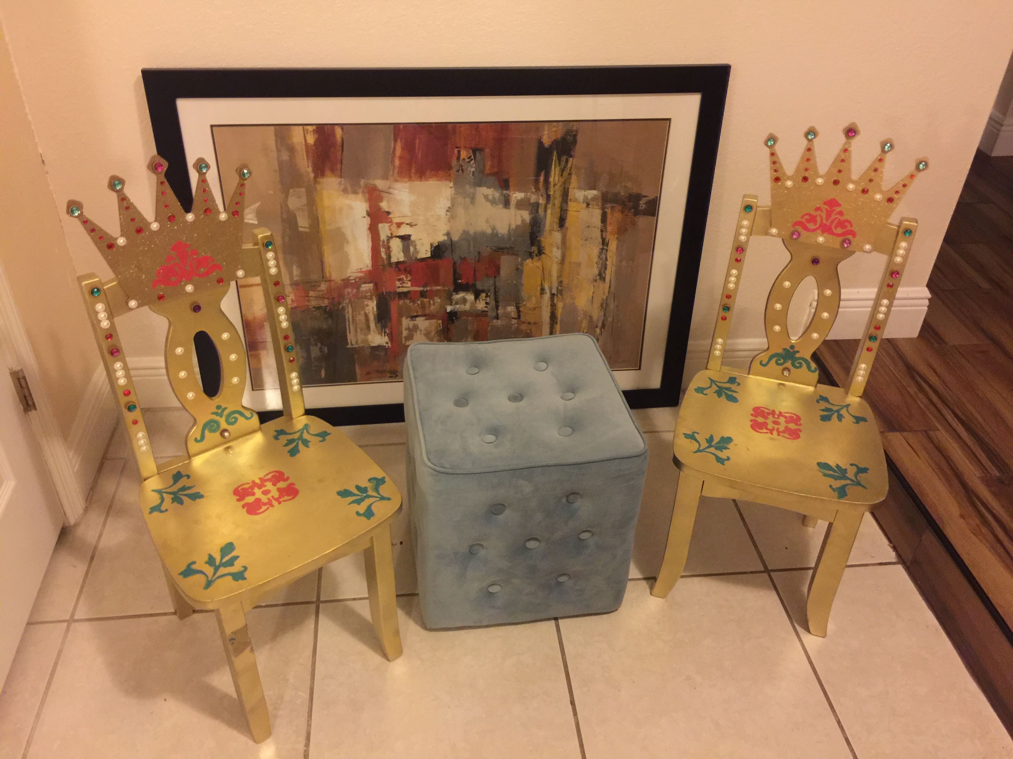 Princess Birthday Party Ideas Princess chair Throne Elena of
