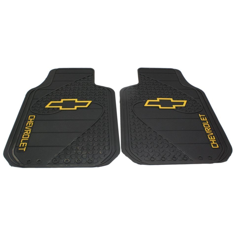 Details About Plasticolor New Floor Mats Carpet Front Black Chevy