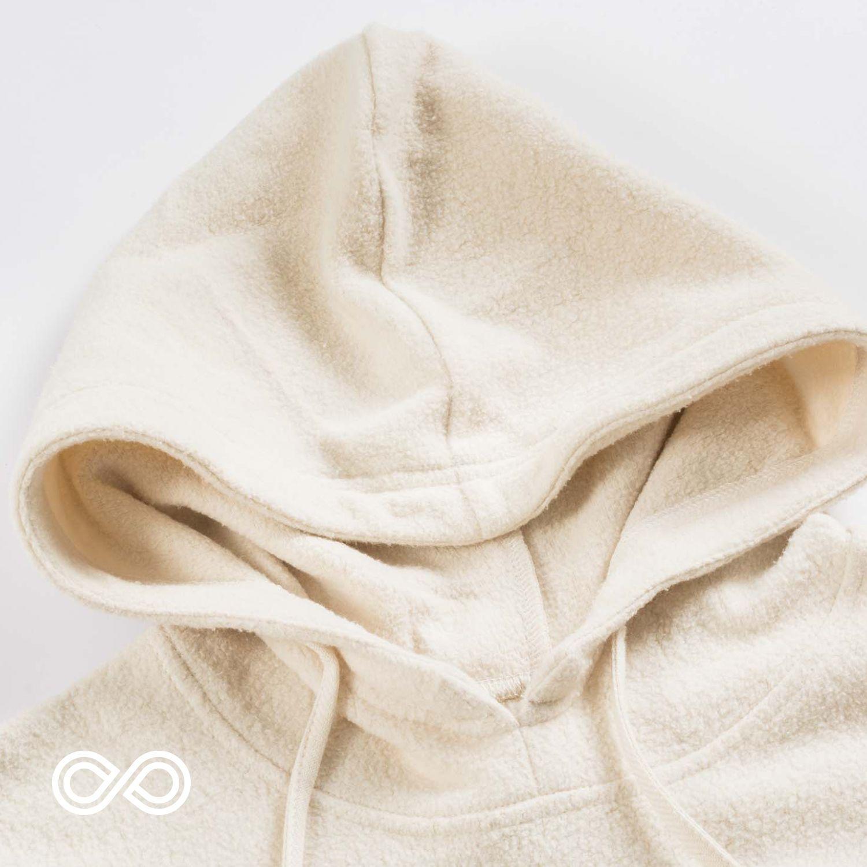 organic cotton doublesided fleece fabric by the yard juniper