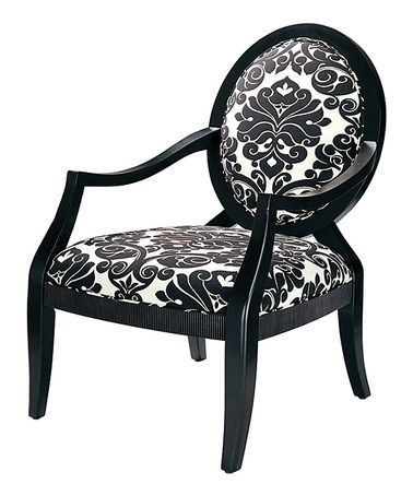 damask accent chair racing office chairs south africa take a look at this black noir by jla home on zulily today