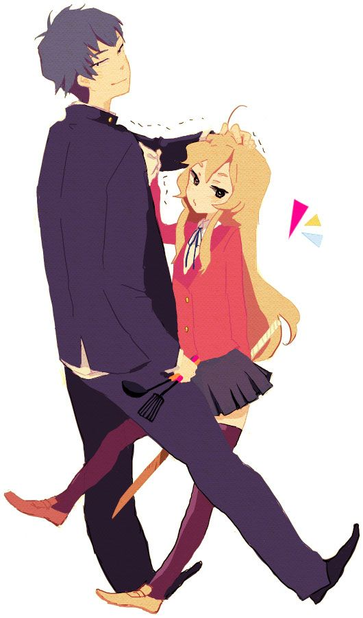 Image result for taiga and ryuuji tumblr