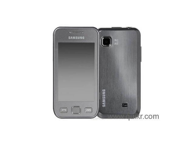 Samsung GTS5250 Wave 525, Metallic Silver Delhi delhi