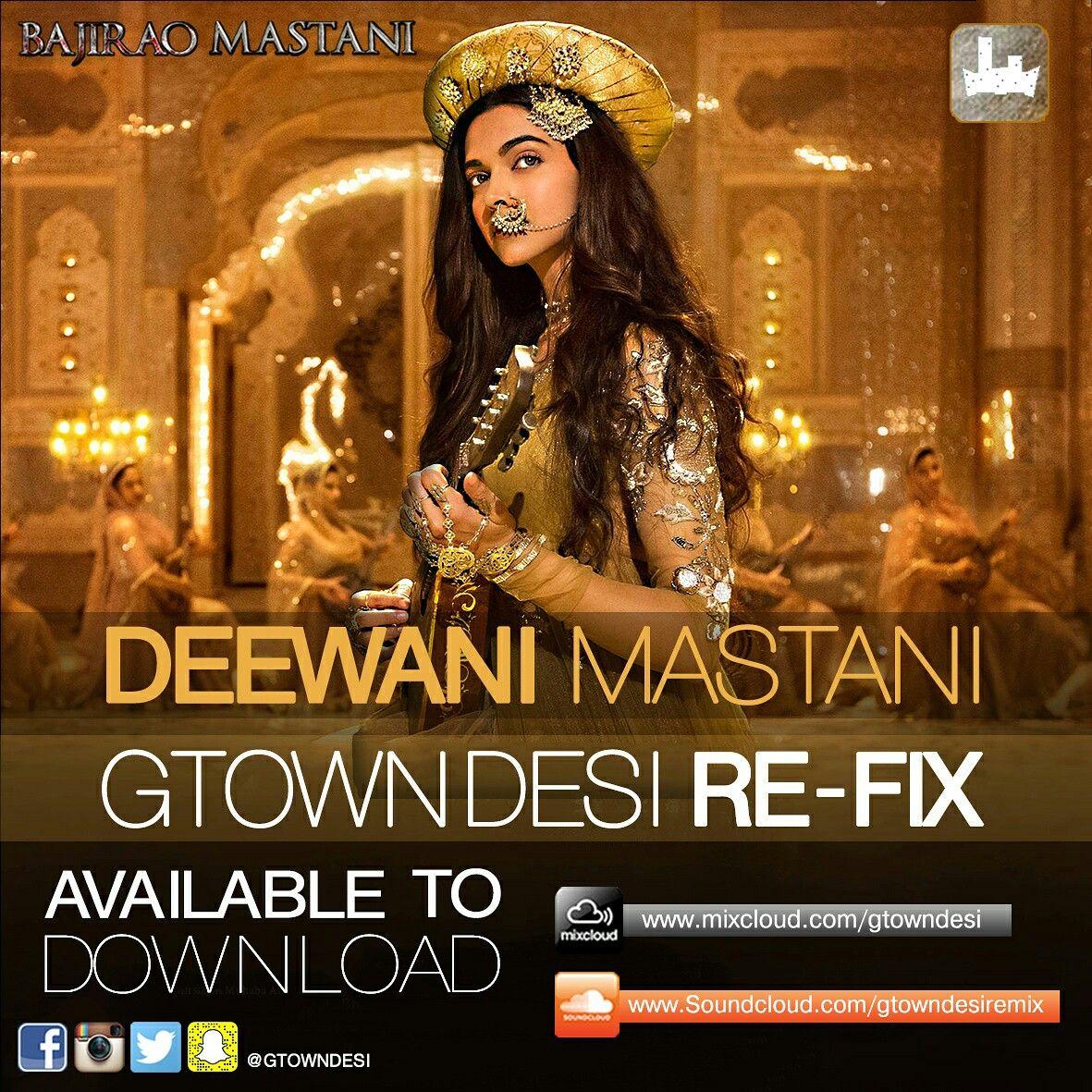 Pin by Gtown Desi on DJ Mix Mastani, Audio songs, Hindi