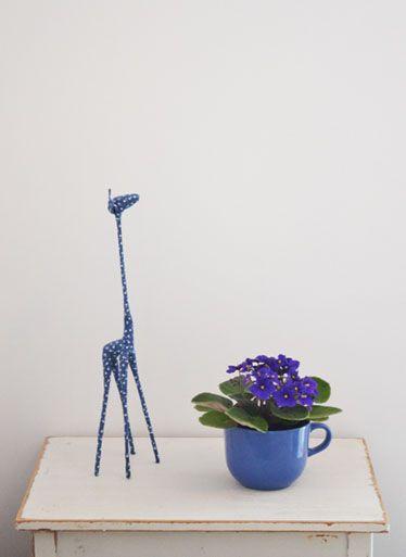 A girafa e a flor