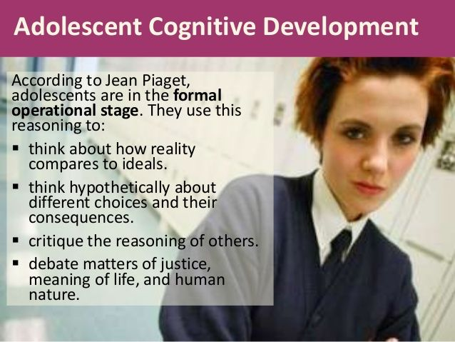 formal operational stage of cognitive development
