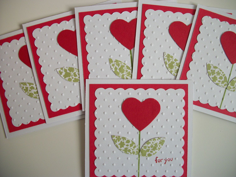 Set Of 24 Valentine Cards Handmade Valentine Cards Kids