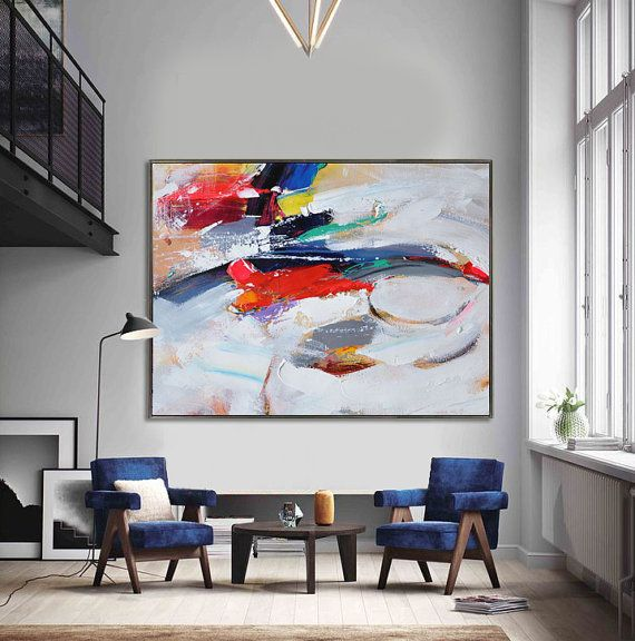 Handmade Extra Large Contemporary Painting Huge by CelineZiangArt  #buyart #cuadrosmodernos #art