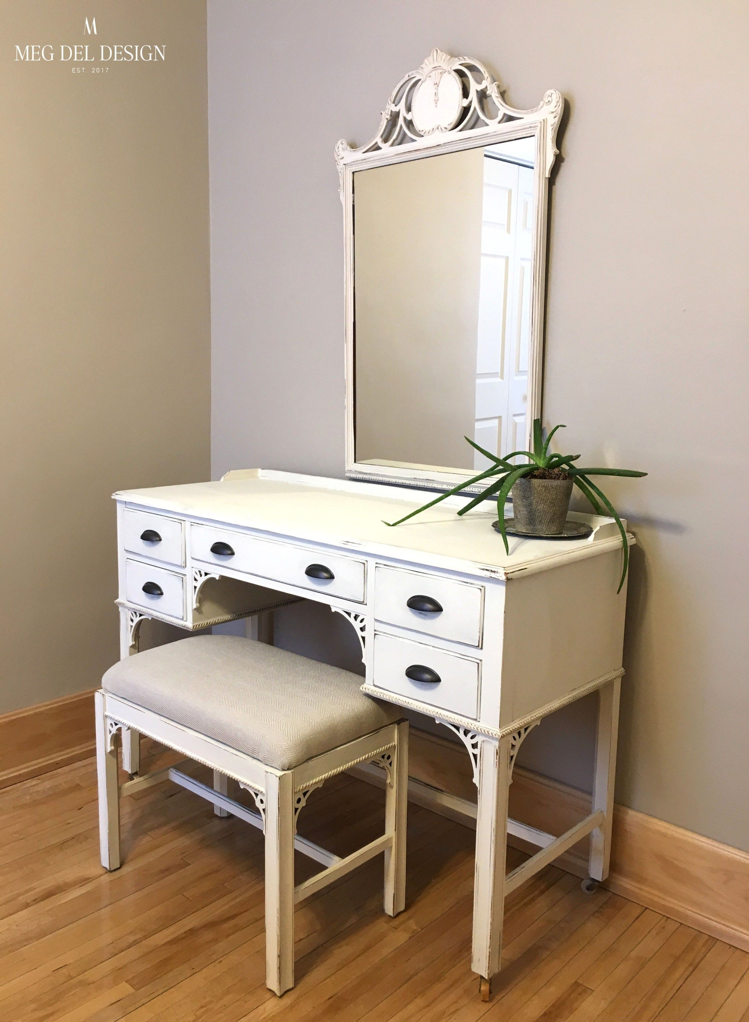 how to paint a wood vanity white