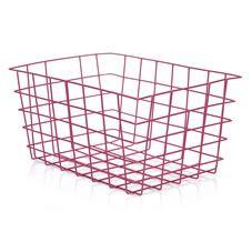 wilko wire storage basket pink home pinterest wire storage Wilkinson Wire Colours wilko wire storage basket pink wilkinson pickups wire colours