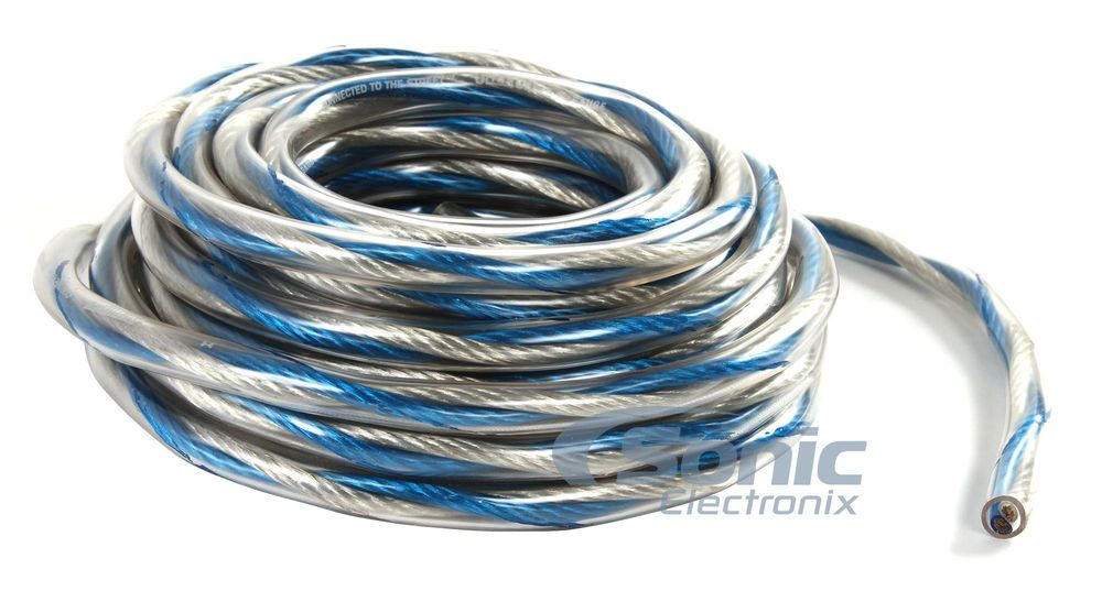 StreetWires 12 AWG Speaker Wire (UCT1225BL) | Speaker wire