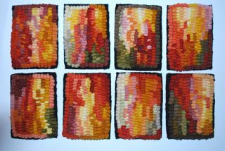 Loopgram How To Create Hooked Atcs Red Jack Rugs