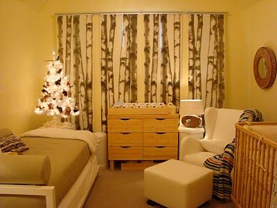 Curtains Ideas birch tree curtains : Birches, Curtains and Mirrored closet doors on Pinterest