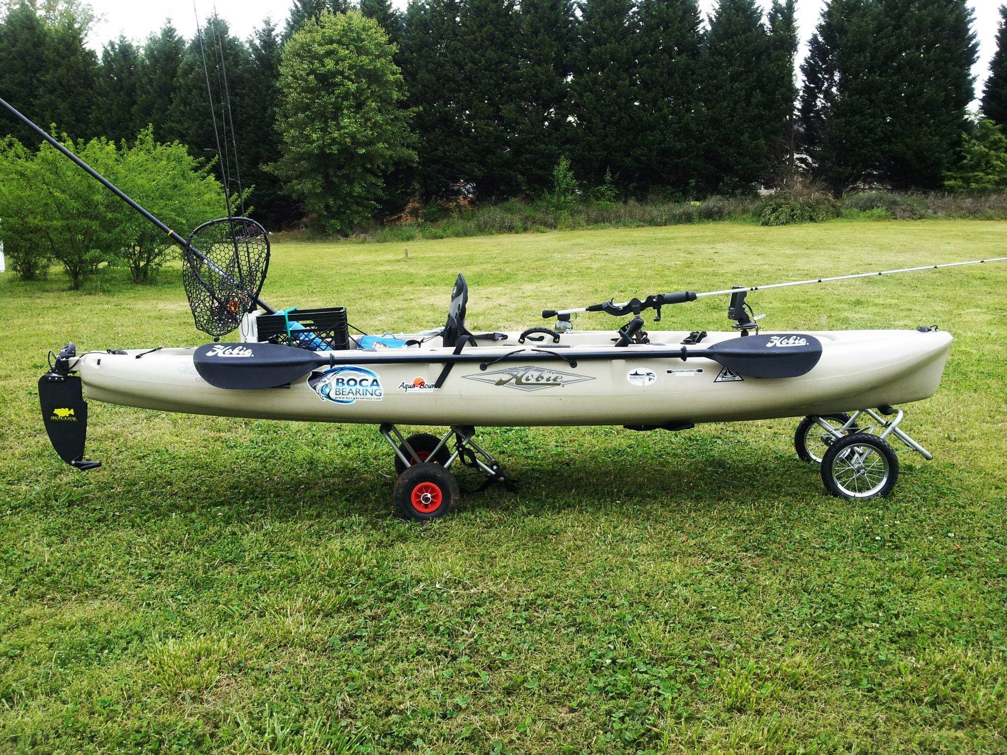 Hobie Outback Kayak fishing, Kayaking, Hobie mirage