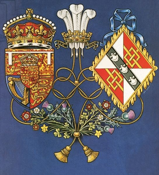 Royal Marriage Of Prince Charles And Lady Diana Spencer By