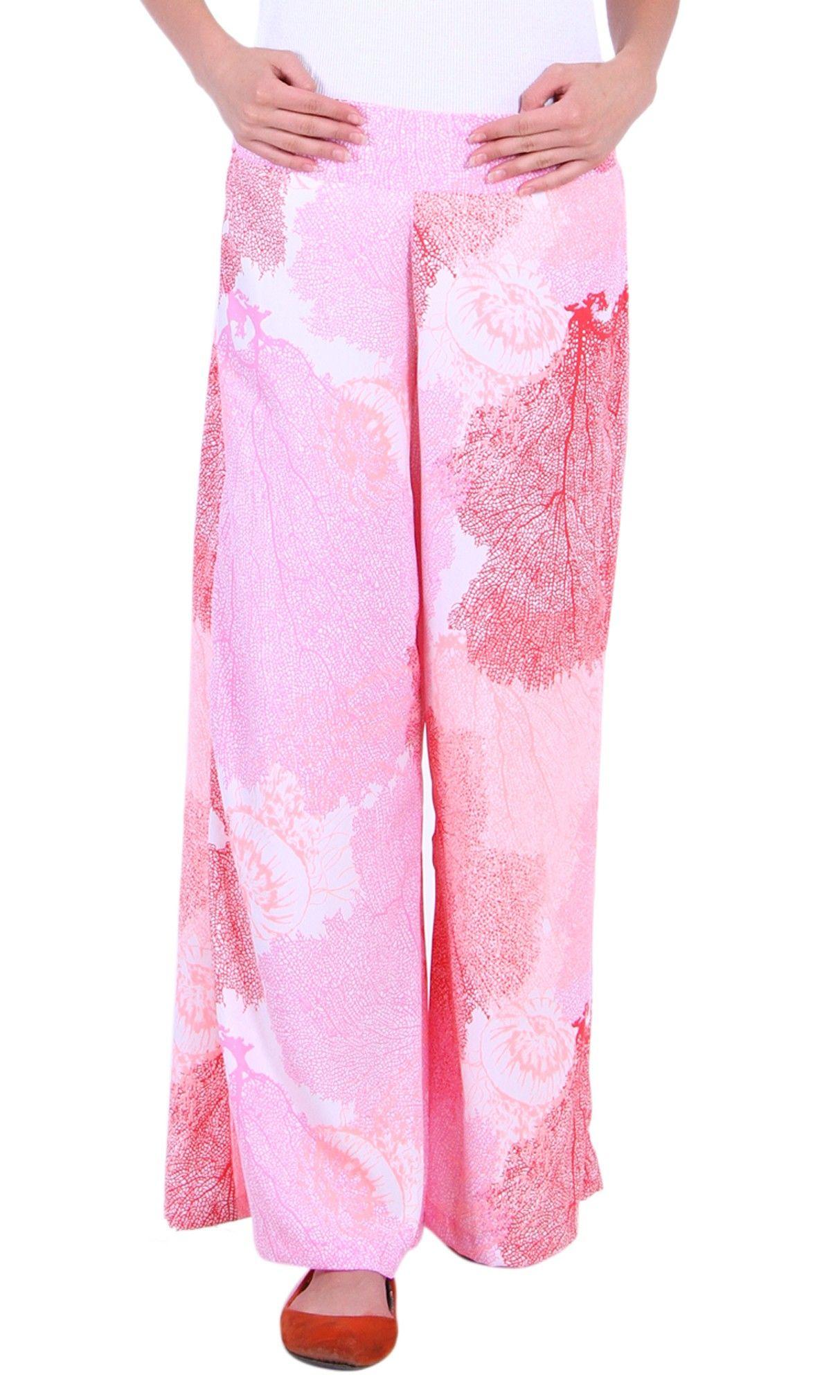 Pink Multi Print Palazzo