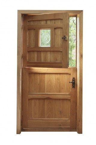 Oak stable door for kitchen?