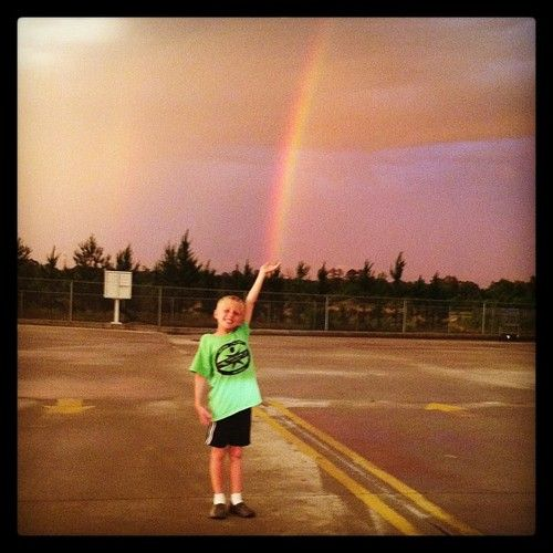 Dylan standing in the Lumberton Walmart parking lot from Shay