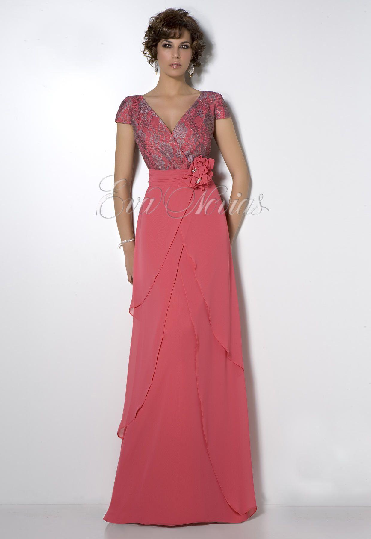 Vestido de fiesta Madison Diseño modelo 1541 en #Madrid, #boda ...