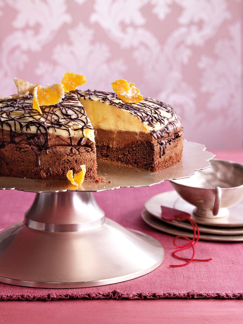 Schoko Orangen Torte Rezept Wedding Orangen Torte Schoko Und