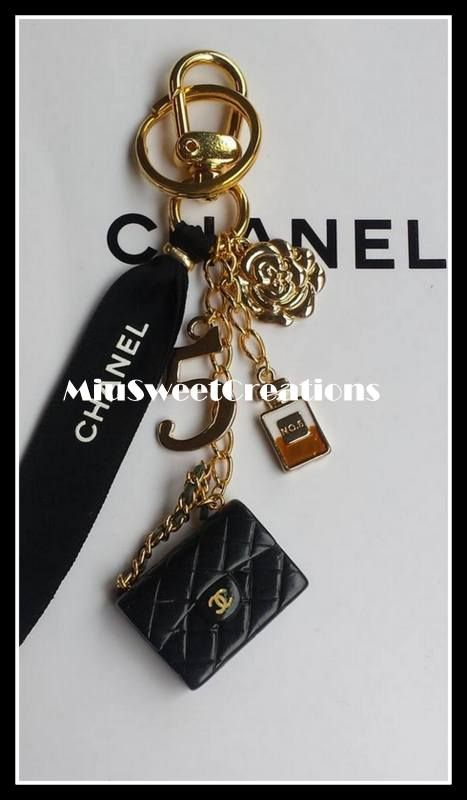 9ff5d4c9f0d5 Bag Charm - Chanel Handmade | Jewelry :) | Pinterest