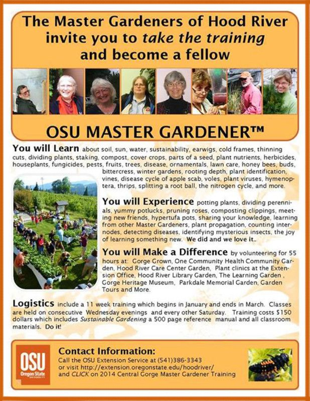 Oregon State University Extension Master Gardener