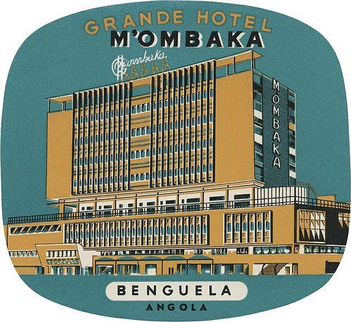 Grande Hotel M'Ombaka, Benguela (107mm × 117mm) | Flickr: Intercambio de fotos