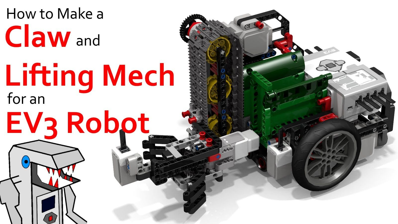 Make A Claw And Lift Mechanism For Your Ev3 Robot If Our Fll Needs