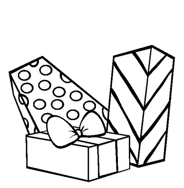 Beautiful Wrapped Gifts Coloring Page Coloring Sky Coloring Pages Coloring Pages For Kids Coloring Pictures
