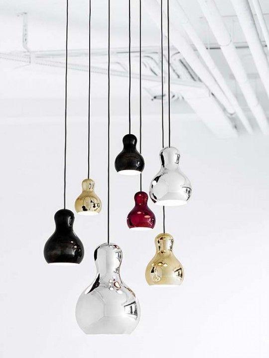 Risultati immagini per lampade a sospensione per cucina | Black and ...