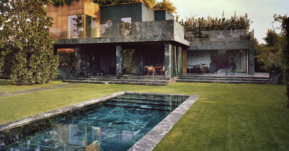 Une villa Art déco en Toscane Architecture and House