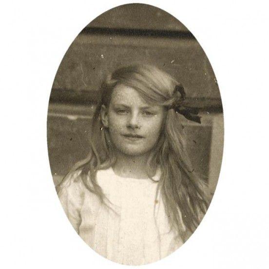 Greta Garbo aged ten 1915