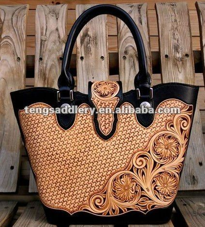 Hand Tooled Sheridan Style Leather Handbags Genuine Handbag Western Sched Product On