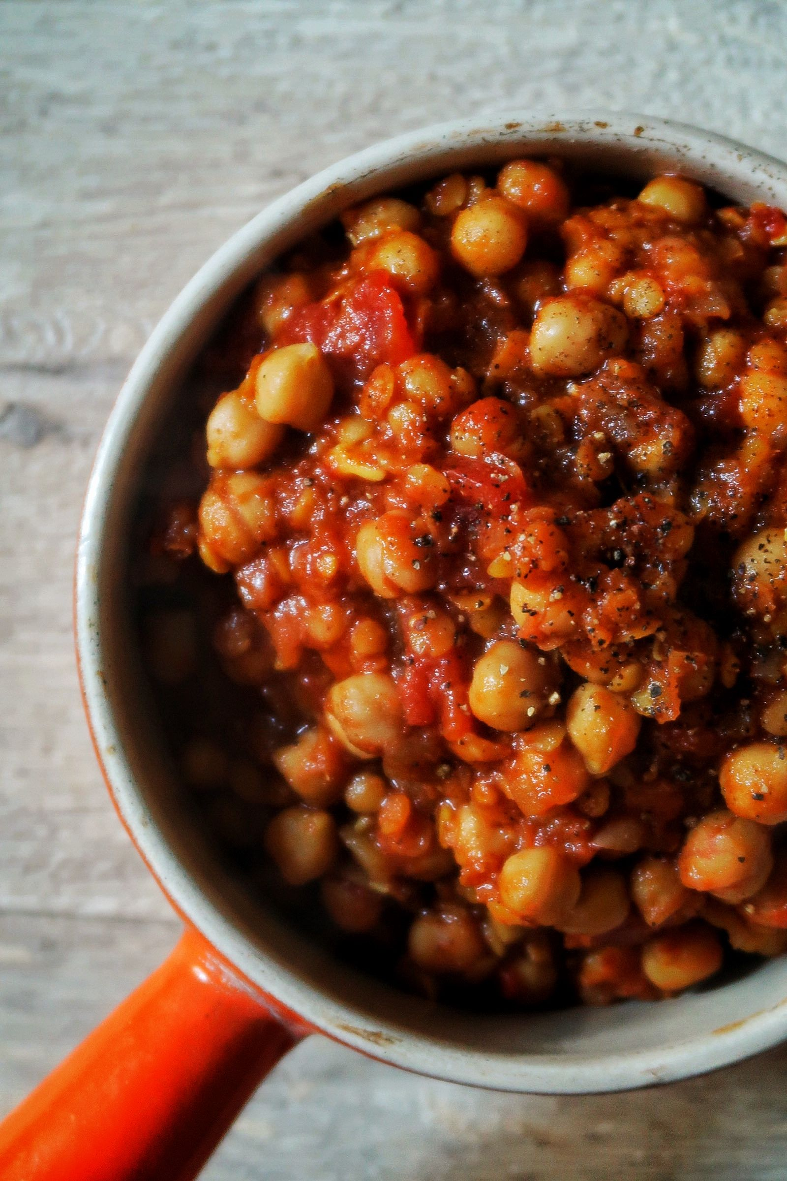 Photo of Einfaches Chana Masala (Kichererbsencurry)