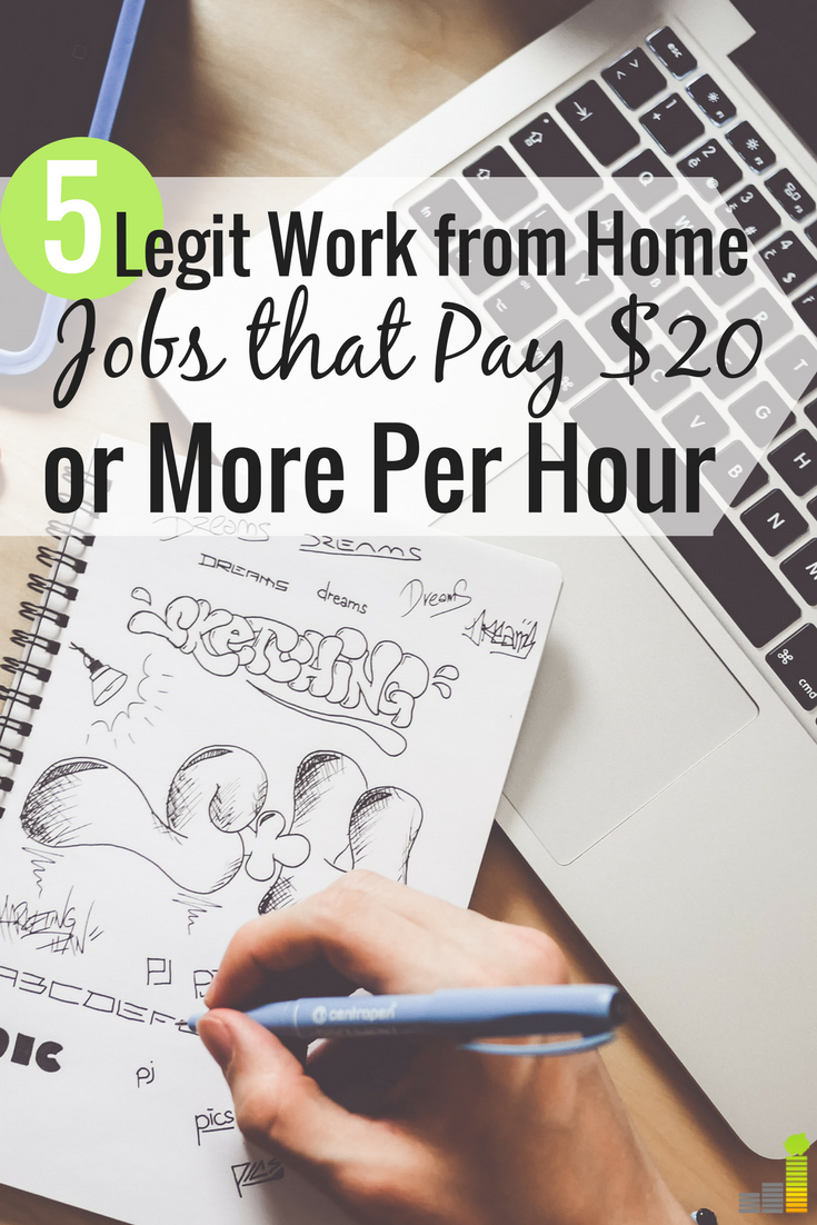 5 High Earning Work From Home Jobs