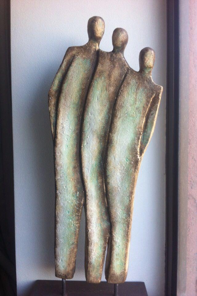 skulptur abstrakte kunst skulpturen tonskulpturen malerei bild rot abstrakt