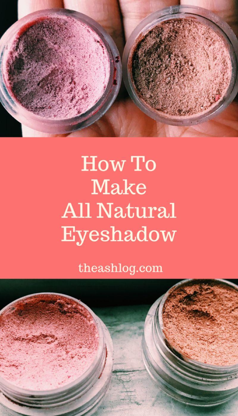 DIY Eyeshadow Recipe Diy eyeshadow, Diy makeup recipes