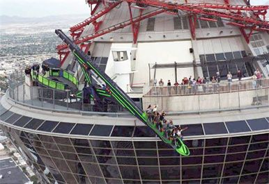 Stratosphere Tower: recipe for a heart attack, but I'm