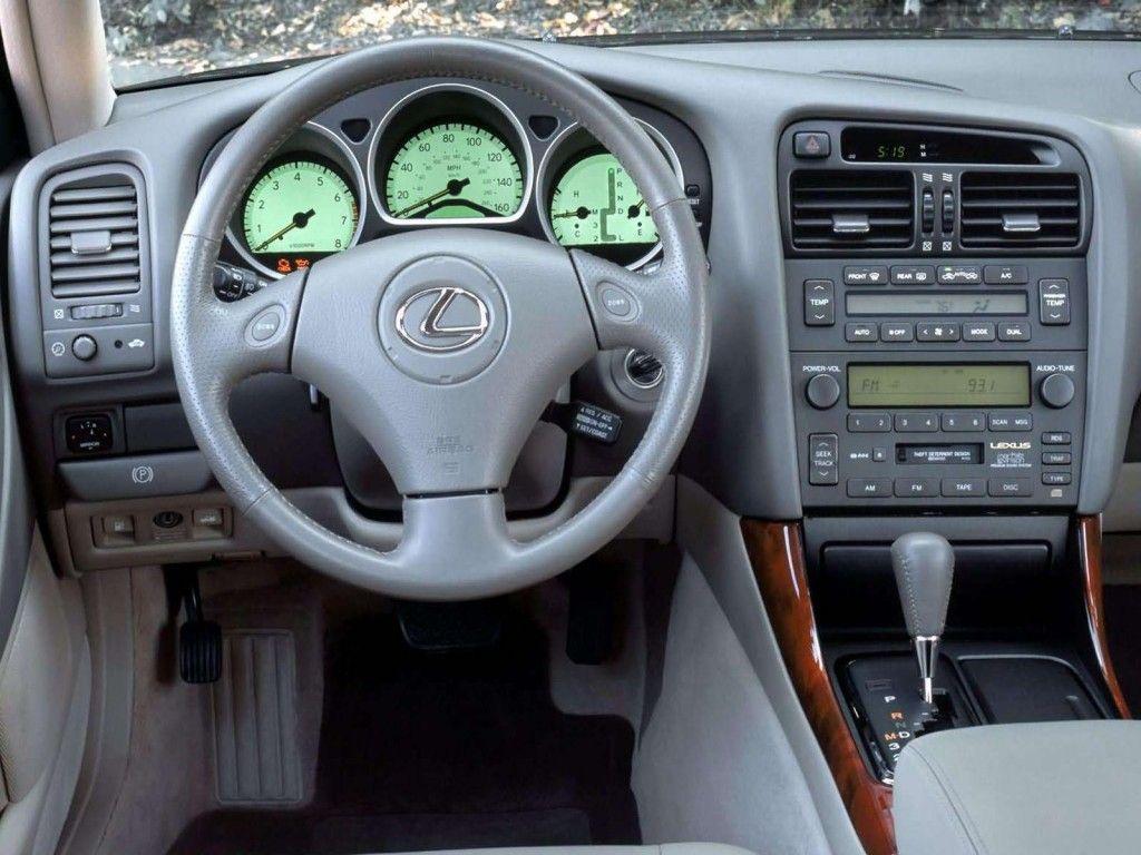 hight resolution of lexus gs300 inside
