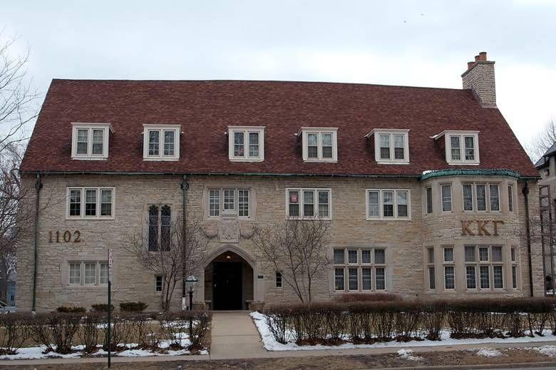 Kappa Kappa Gamma University Of Illinois At Urbana Champaign Sorority House Houses In America Sorority Fun