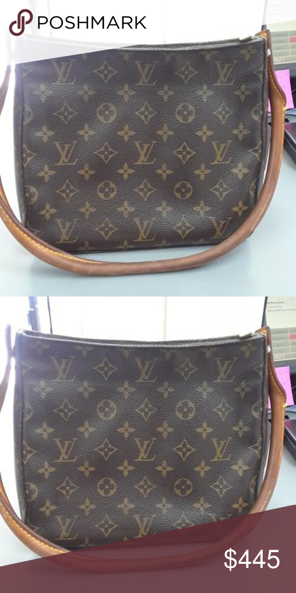 62b30efe7060 Authentic LOUIS VUITTON MONOGRAM bag M51146 Trade This is an authentic  Louis Vuitton Monogram Looping MM Handbag. This bag is made of the  traditional ...