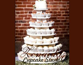 Cupcake Stand Large Round 150 Cupcakes Threaded by ZenaidasDesigns ...