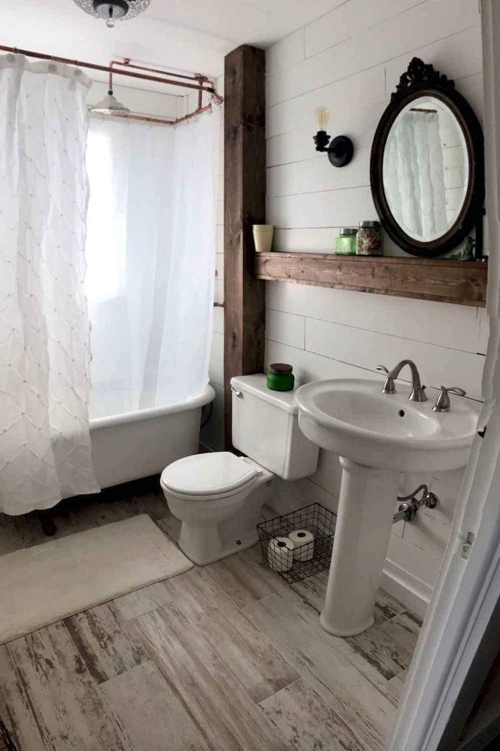 Photo of Small Farmhouse Bathroom Decor Ideas