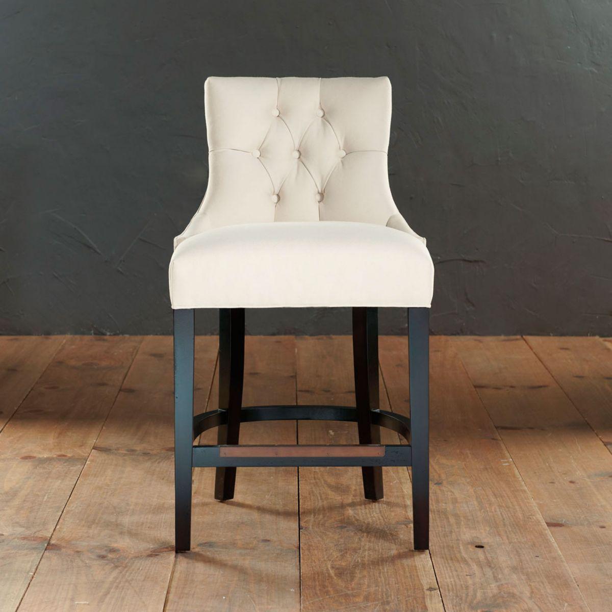 ballard. gentry counter stool. custom fabric. counter $569 39 1/2 h