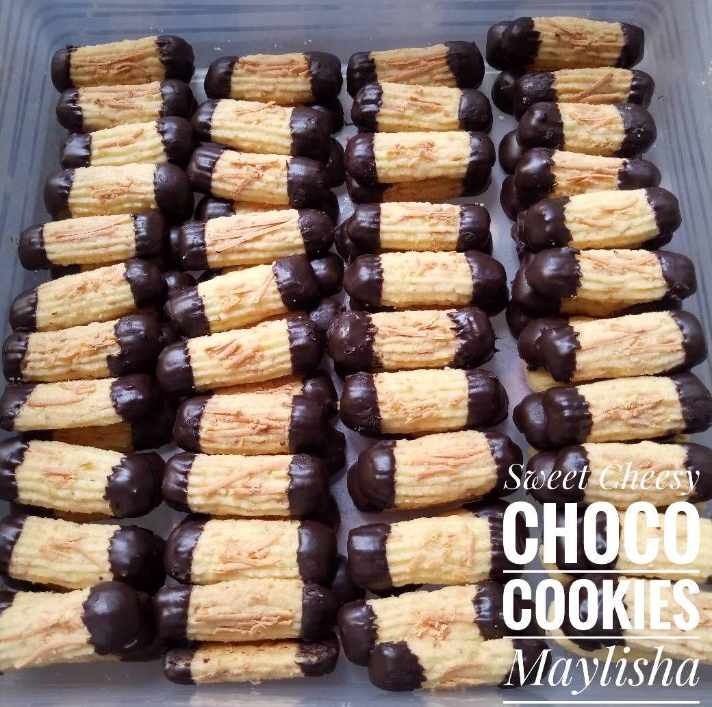 Resep Sweet Cheesy Choco Cookies Oleh Maylisha Resep Resep Makanan Kue Camilan