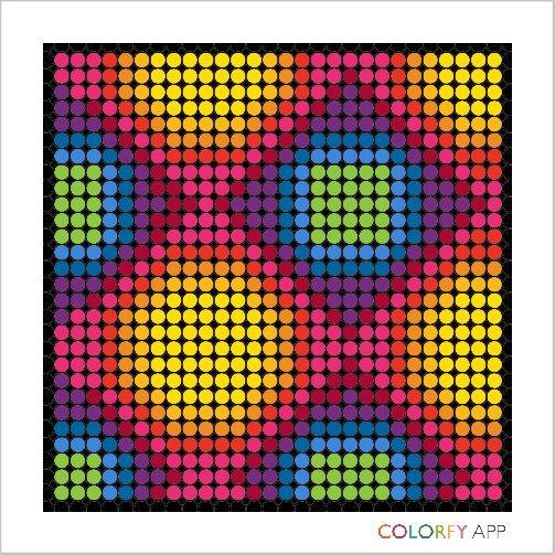 #colorfy #colorfyapp | Graph paper art, Coloring books ...