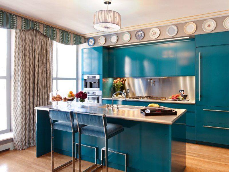 #Küche Designs Küchen Design Ideen: Türkis Küche #Moderne Küchen  #Innenarchitektur Küche