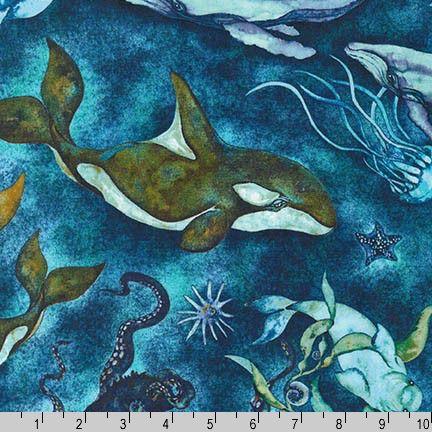 Elizabeth/'s Studio Selfies by Howard Robinson 1318 Blue Ocean Selfies Cotton