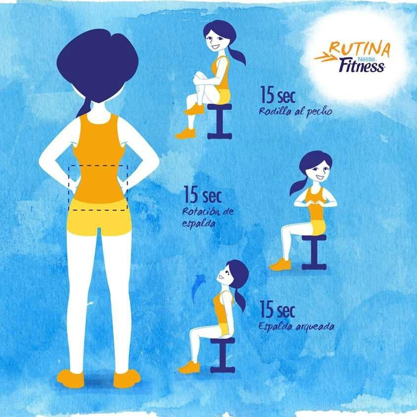 Espalda ejercicio pinterest espalda ejercicios y for Rutina fitness